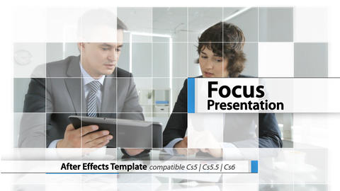 Focus Presentation - After Effects Template After Effectsテンプレート
