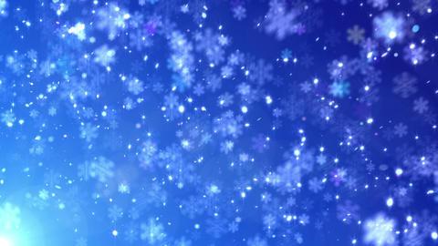 Defocus Light Snow BBS 1 HD Stock Video Footage
