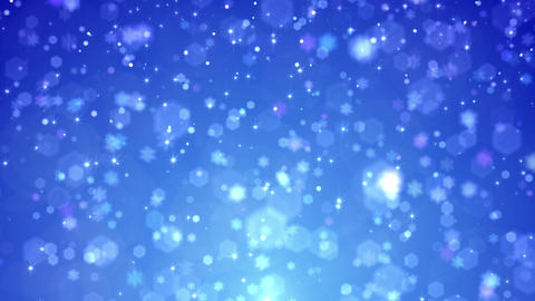 Defocus Light Snow BBS 5 HD Animation