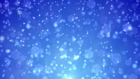 Defocus Light Snow BBS 5 HD Stock Video Footage