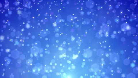 Defocus Light Snow BBS 5 HD Stock Video Footage
