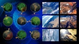 Monitoring Earth Observation From Space stock footage