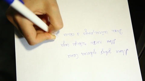 writer 03 Stock Video Footage