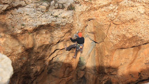 Rock climbing Mountain Climbing Extreme Sports rope cliff crag Motivation Live Action