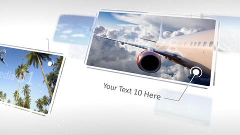 Elegant Flying Display - After Effects Template After Effectsテンプレート