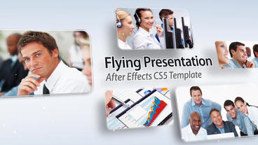 Flying Presentation - After Effects Template After Effects Project