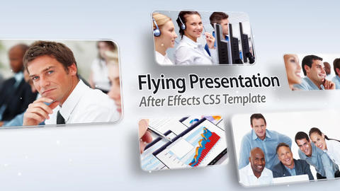 Flying Presentation - After Effects Template After Effectsテンプレート