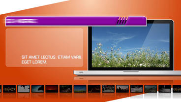 Laptop Stylish Display - After Effects Template After Effects Template