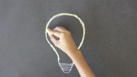Idea Light Bulb ภาพวิดีโอ