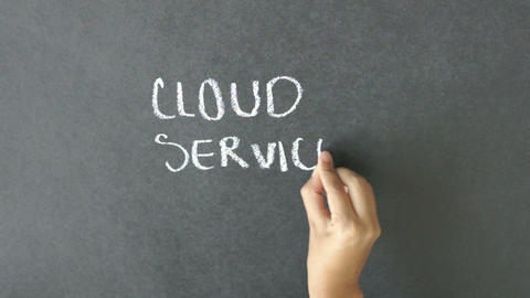 Cloud Services Stock Video Footage