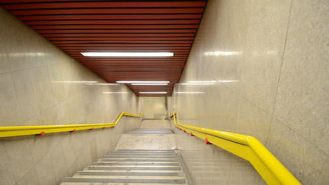 Escalators Stock Video Footage