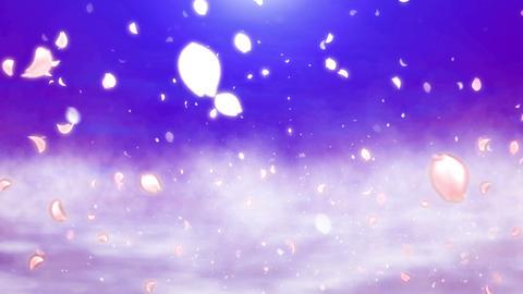 Cheery Blossom Light Cloud 01B Stock Video Footage