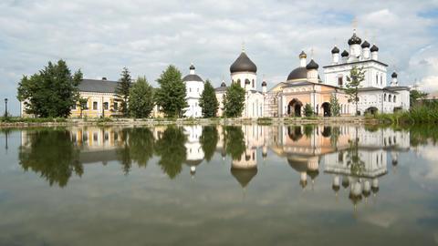 Russian Monastery Stock Video Footage