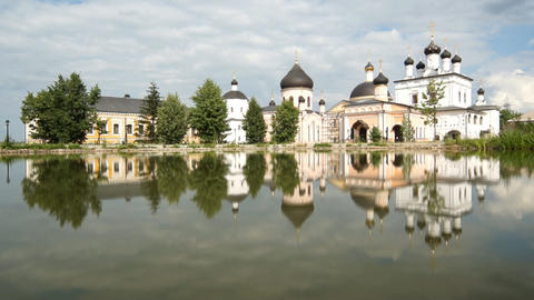 Russian Monastery Stock Video Footage