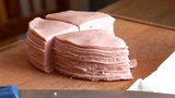HD- Cutting Baloney stock footage