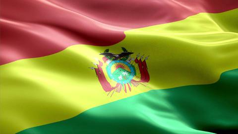 Flag Bolivia Animation