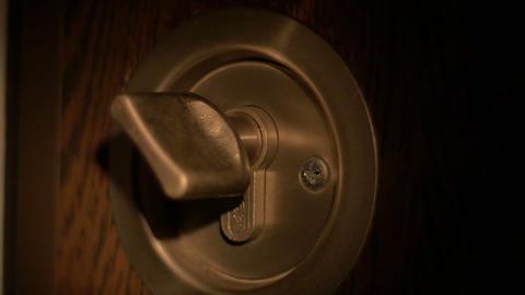 Burglar Opens Lock Footage