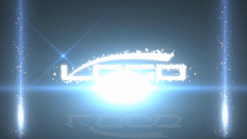 Particle Logo Reveal After Effectsテンプレート