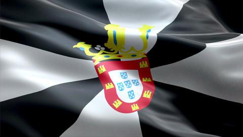 Flag Ceuta Animation