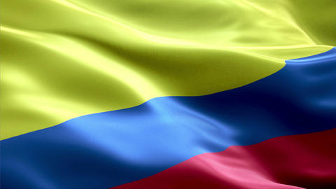 Flag Colombia Animation