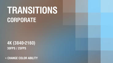 Clean Corporate Transitions vol 1 After Effects Template