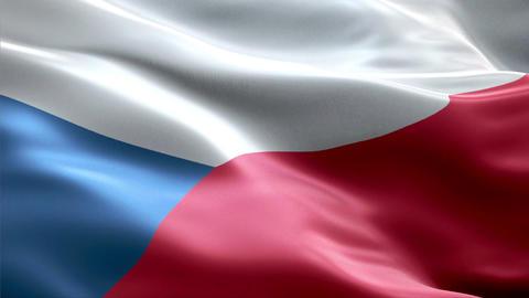 Flag Czech-Republic Animation