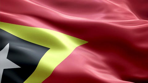 Flag East-Timor Animation