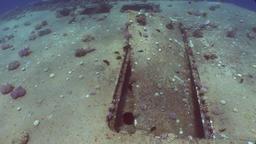 Salem Express shipwrecks underwater on seabed n Egypt Footage