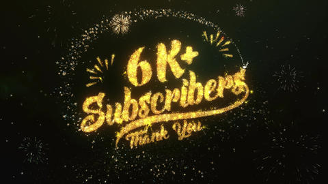 6K+ Subscribers Followers Animation
