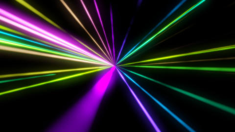 Crossing chroma rays Animation