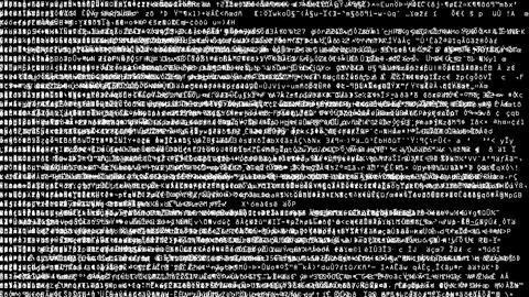 Code Scramble Overload Animation