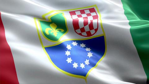 Flag Federation-BiH Animation