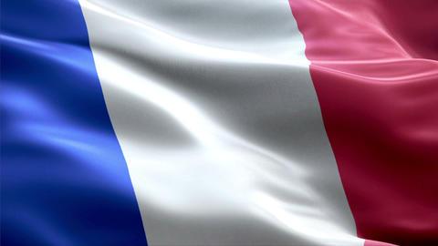 Flag French-Guiana Animation