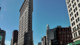 New York City 579 Flatiron Building at Broadway Footage