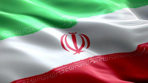 Flag Iran Animation