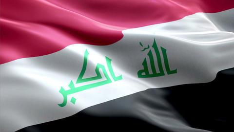 Flag Iraq Animation