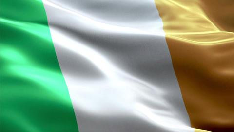 Flag Ireland Animation