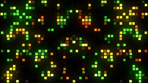 Vj abstract colorful squares background Animation