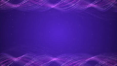 Purple farm Abstract motion background, shining light, rays, particles Animation