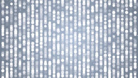 White dots blinking loop Abstract Flickering Metallic Shining moving particles Animation