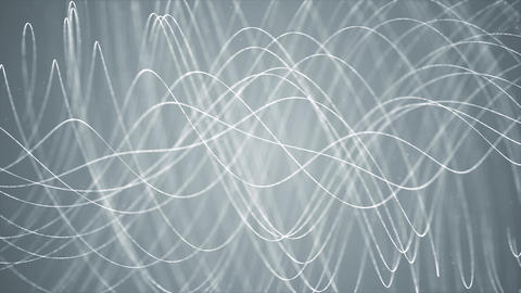 Looping lines rotation Abstract Particle Streaks Lines and Stripes Fractal Animation