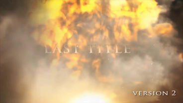Explosion intro After Effects Template