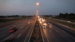 Traffic on freeway Footage