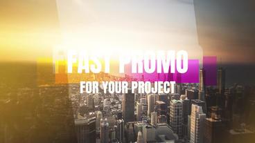 Fast Promo Premiere Proテンプレート