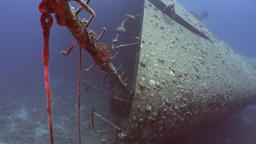 Shipwrecks Salem Express shipwrecks underwater in the Red Sea in Egypt Footage