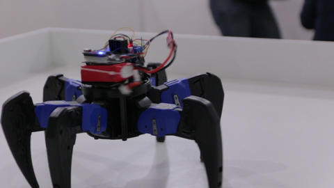 The Hexa Robot Toy Footage