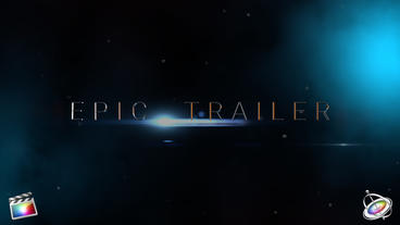 Epic Trailer Apple Motion templates