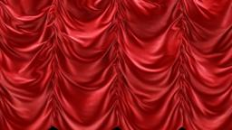 Beautiful Velvet Curtains In Different Colors And Patterns. Made With Alpha Channel.