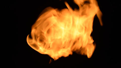 Fierce fire flames 06 GIF