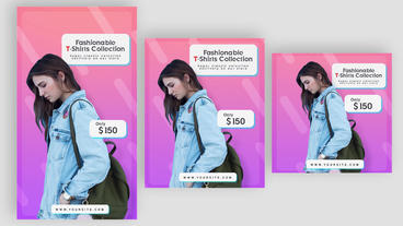 Social Media Posts V 1-Product Sales version Plantilla de After Effects